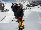 Climbing Sherpa Lal Singh Tamang Filming On The Lhakpa Ri Summit